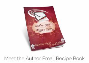 Author Email Recipe Book